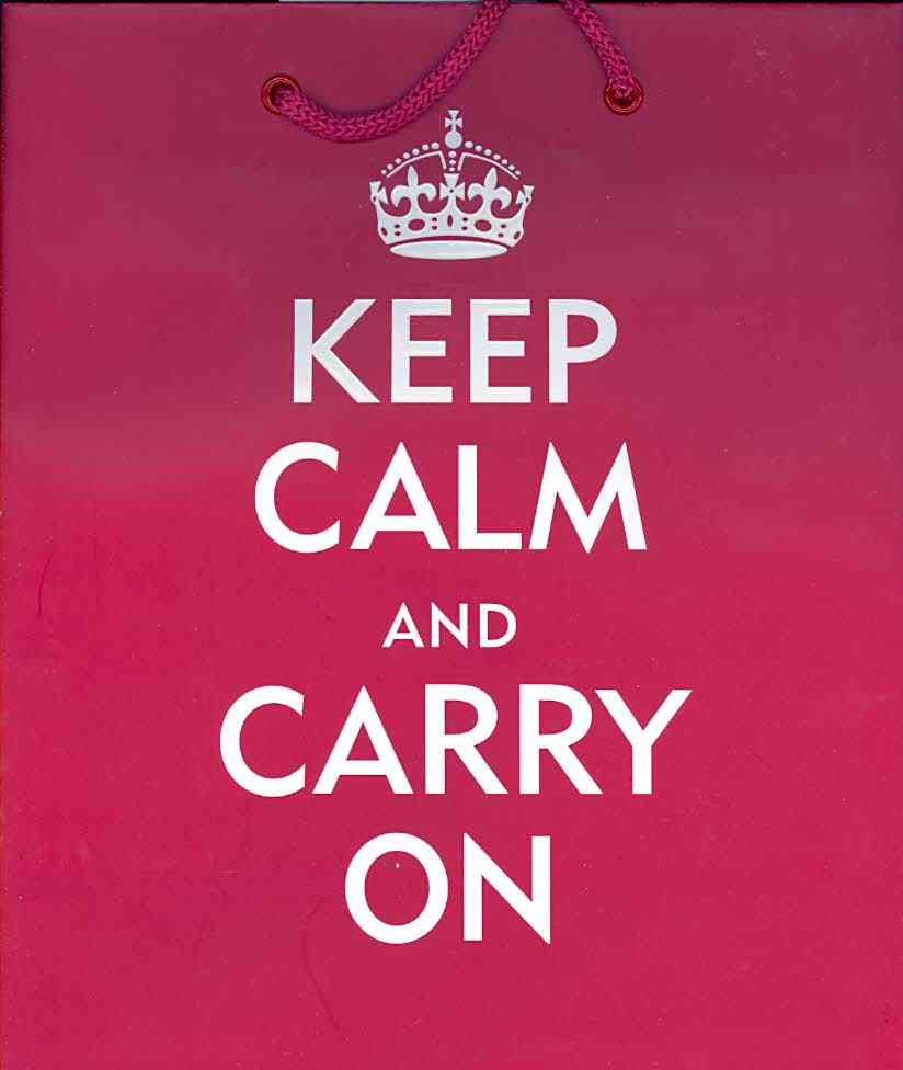 Keep Calm and Carry on By Peter Pauper Press, Inc. (COR)